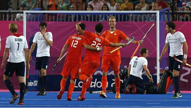 GB mauled by Dutch in Olympic hockey semi