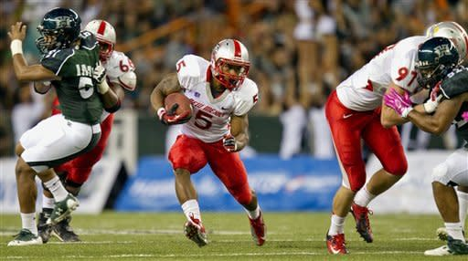 Carrier leads New Mexico over Hawaii 35-23