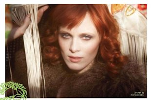 Karen Elson by Kate Elson 