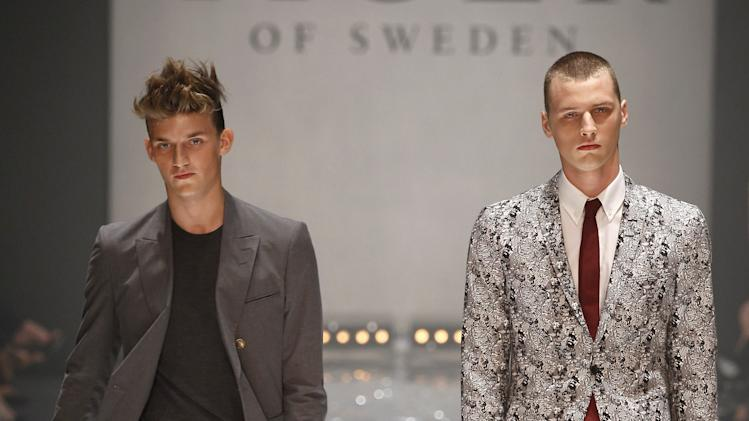Tiger Of Sweden: Mercedes-Benz Stockholm Fashion Week S/S 2013