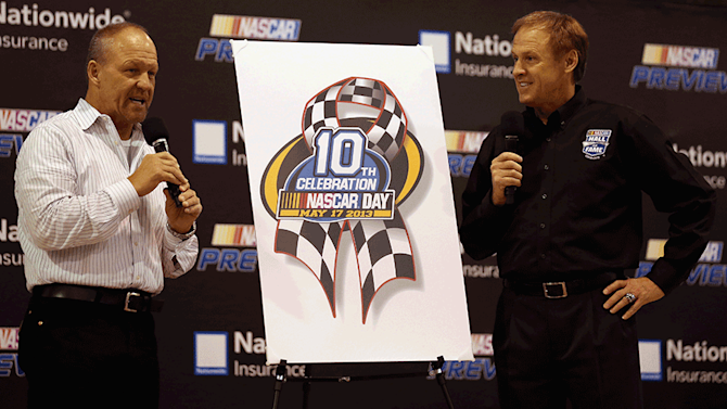 Bass, Wallace introduce 10th annual NASCAR Day