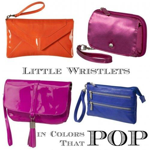 Wristlets, in Colors That Pop