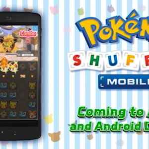 Mobile phones are getting a Pokemon game