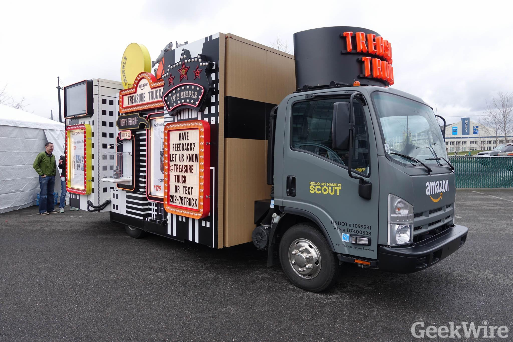 Amazon wins patent for Treasure Truck as it makes plans to expand beyond Seattle