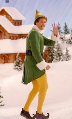 Will Ferrell stars as Buddy in New Line Cinema's Elf