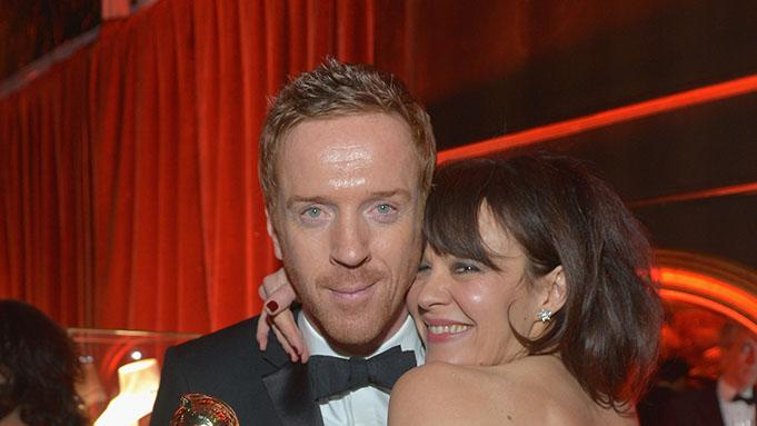 Chopard At The Weinstein Company's 2013 Golden Globe Awards After Party: Damian Lewis and Helen McCrory: Damian Lewis and Helen McCrory