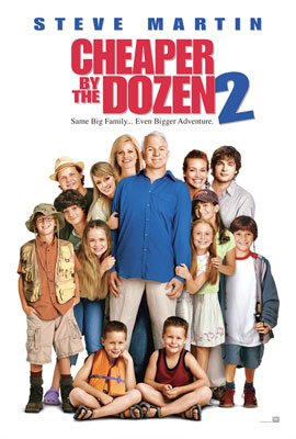 Steve Martin stars in 20th Century Fox's Cheaper by the Dozen 2