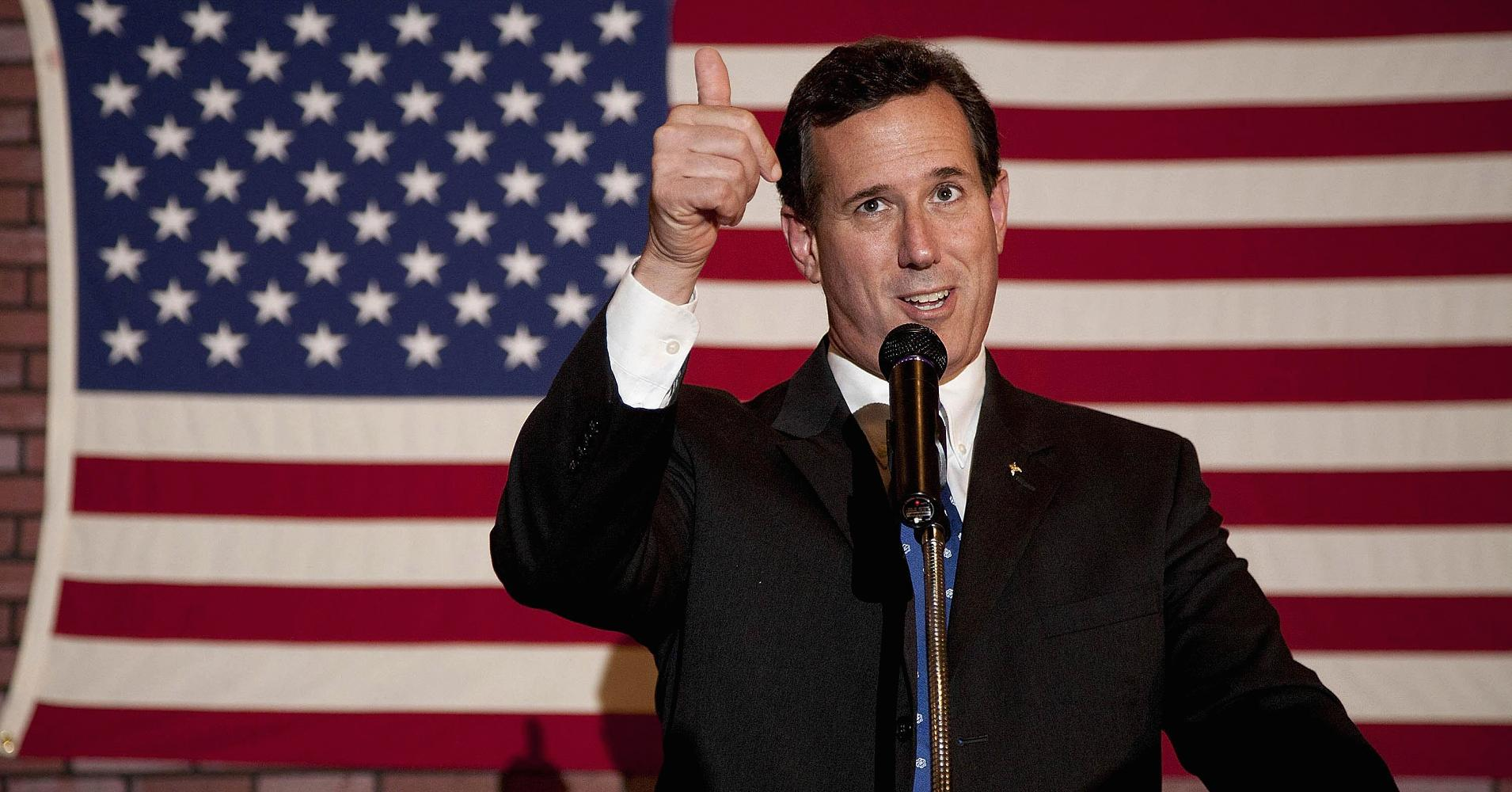 Rick Santorum officially launches presidential bid