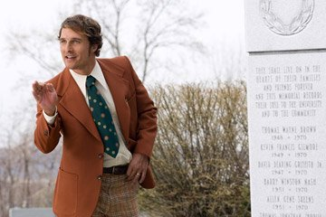 Matthew McConaughey in Warner Bros. Pictures' We Are Marshall