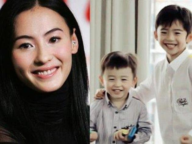 Cecilia Cheung reportedly sending kids to Singaporean school