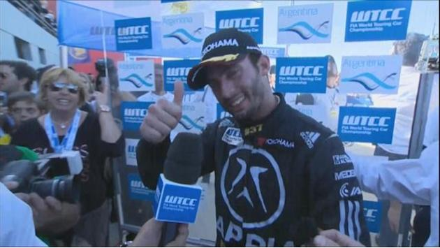 WTCC - Local hero Lopez wins on debut in Argentina
