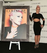 Pink announced as new face of CoverGirl cosmetics