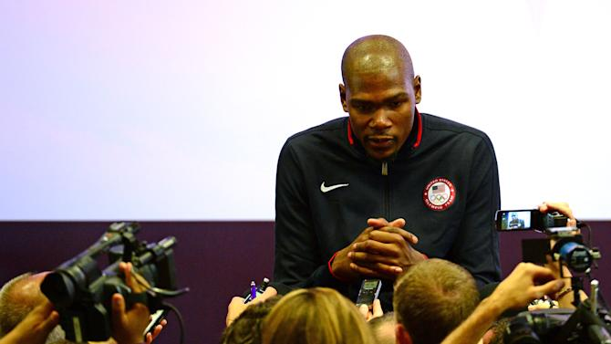 Olympics: USA Men's Basketball Press Conference