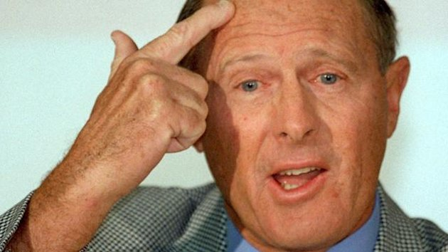 Former British cricket legend and BBC anchorman Geoffrey Boycott