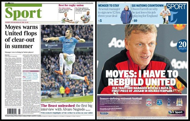 Premier League - Paper Round: New Rooney deal 'by end of week'