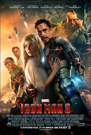 'Iron Man 3′ IMAX Poster Unveiled