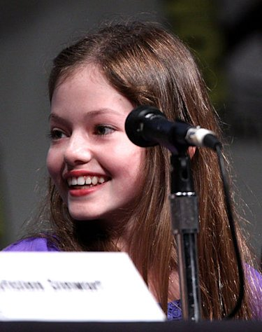 Mackenzie Foy is the new face of &quot;Twilight.&quot;