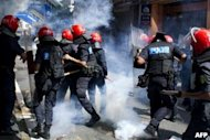 Riot police underwent 'anger management' courses
