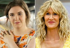 Lena Dunham, Laura Dern | Photo Credits: Ali Paige Goldstein/HBO, Prashant Gupta/HBO