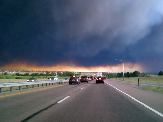 Like Driving into Hell: Traveling into Colorado&amp;#39;s Wildfires