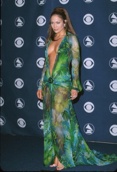 Jennifer Lopez in Versace