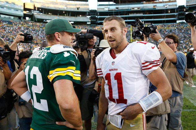 alex smith aaron rodgers