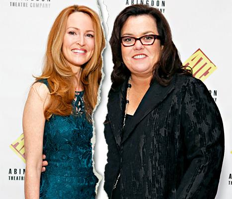Rosie O'Donnell, Michelle Rounds Split: Actress Files for Divorce From Wife