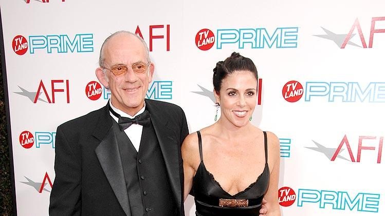 AFI Lifetime Achievement Awards Christopher Lloyd and Mary Ann Contreras