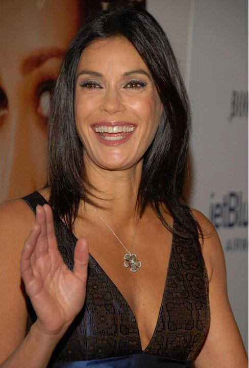 Teri Hatcher arrives to the Hollywood Life Style Awards at the Pacific Design Center.
