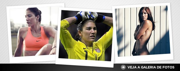Fotos da goleira Hope Solo