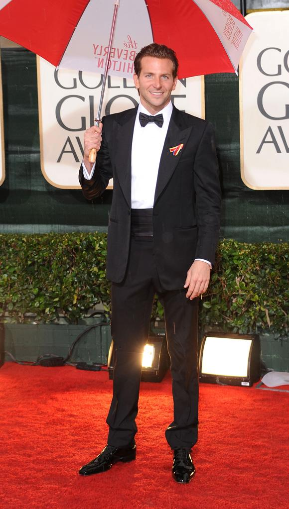 67th Annual Golden Globe Awards 2010 Bradley Cooper
