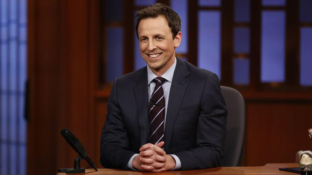 Seth Meyers on Late-Night Changes, Donald Trump Jokes and Sit-Down Monologue
