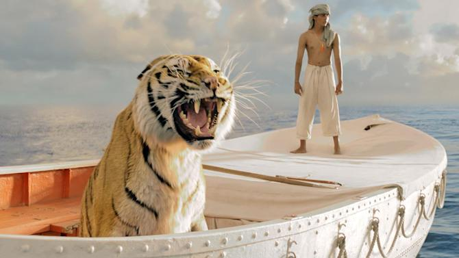 'Life of Pi,' 'Red Dawn,' in movie theaters