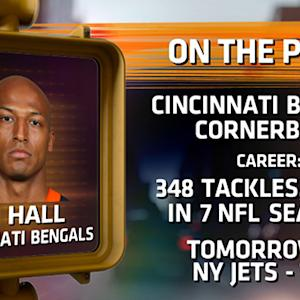 Leon Hall talks Bengals football