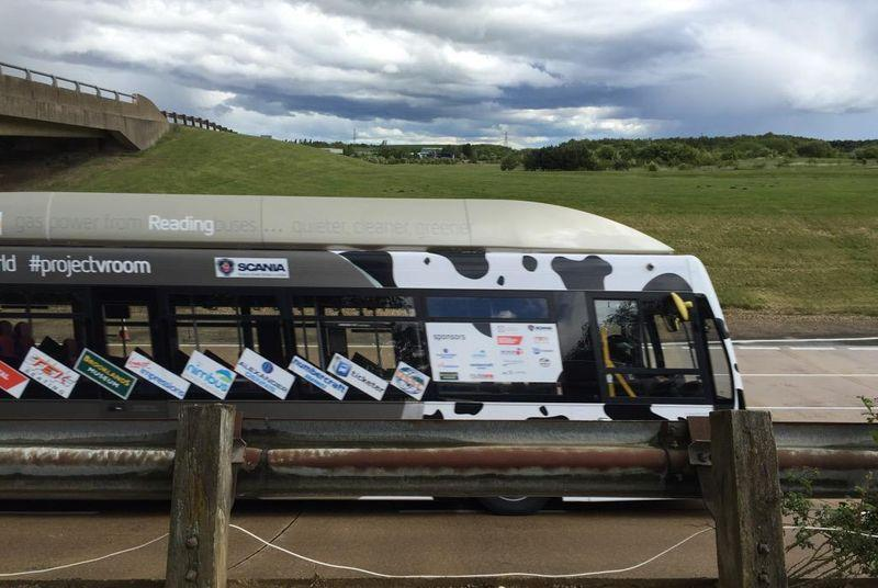 Poo bus breaks wind to set land speed world record