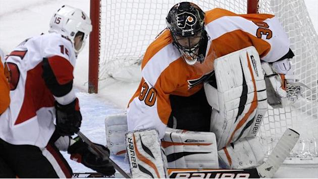 Ice Hockey - Bryzgalov stars as Flyers halt Senators run