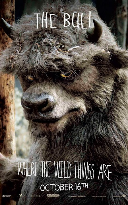 Where the Wild Things Are Production Photos 2009 Warner Bros. Poster