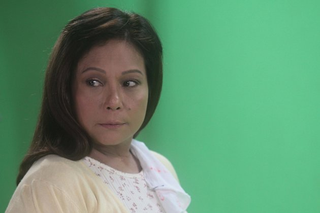 "Superstar Nora Aunor poses during the photoshoot for her newest TV5 soap opera titled ""Never Say Goodbye"". (NPPA Images)"