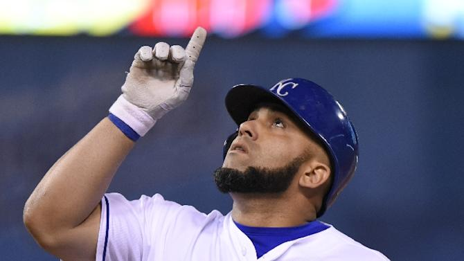 In May, Cuba's state-controlled television took the unprecedented step of televising a Major League Baseball game involving a Cuban player, Kendrys Morales (pictured), in the Kansas City Royals game with the Texas Rangers