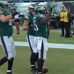 Philadelphia Eagles running back LeSean McCoy's 2-yard touchdown run