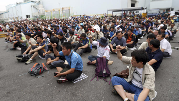 Hyundai labor union to strike for 4 hours