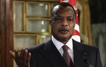 Congo Republic president says expects referendum over third term