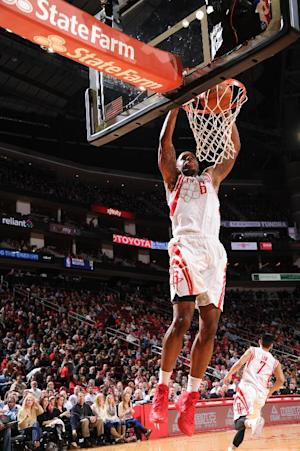 Jones leads Rockets over Bucks, 114-104