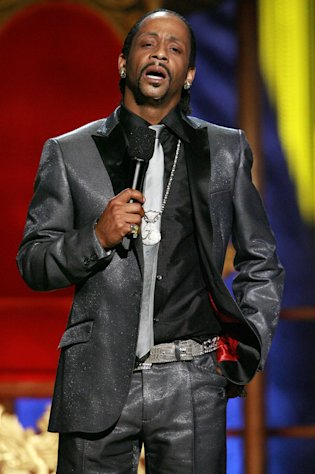 In this Sunday, July 22, 2007 photo, Katt Williams performs onstage during the &quot;Comedy Central Roast of Flavor Flav,&quot; in Burbank, Calif. Williams found himself on the wrong side of the law after being arrested in Los Angeles, Friday, Dec. 28, 2012, on suspicion of child endangerment and possession of a stolen gun. Police Officer Norma Eisenman says Williams was taken into custody Friday after the Los Angeles County Department of Children and Family Services did a welfare check at his home. Authorities found more than one firearm, one of which had been reported stolen. (AP Photo/Matt Sayles)