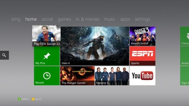 New Xbox 360 dashboard update brings Internet Explorer to your console