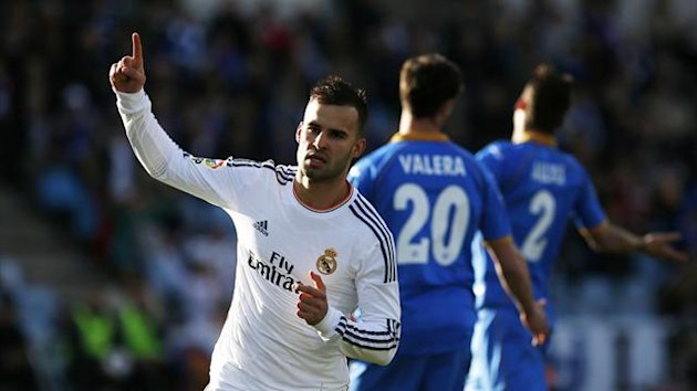 Real Madrid's Jese scores v Getafe (Reuters)