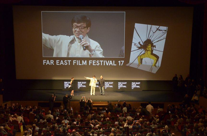 Jackie Chan Opens Udine Festival