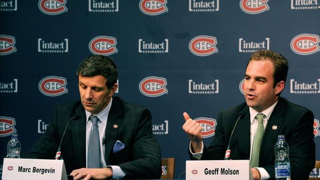 Montreal Canadiens Owner Geoff Molson Introduces Getty Images