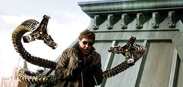Alfred Molina as Doctor Octopus in Columbia Pictures' Spider-Man 2