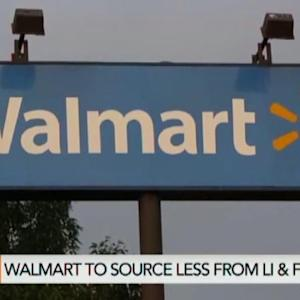 Wal-Mart to Source Less From Li & Fung